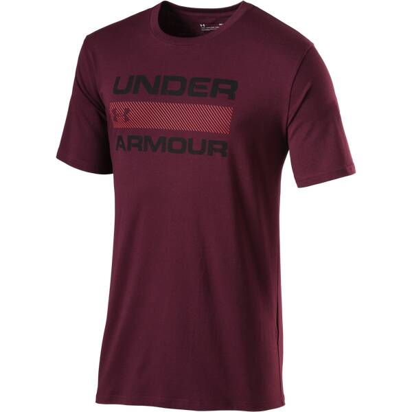 UNDERARMOUR Herren Trainingsshirt UA Team Issue Wordmark Kurzarm