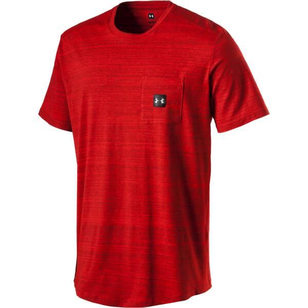 UNDERARMOUR Herren Trainingsshirt UA Sportstyle Pocket Kurzarm