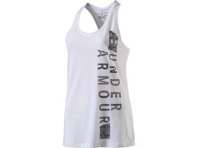 UNDER ARMOUR Damen Tank-Shirt Threadborne Graphic Weiß