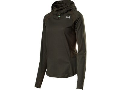 UNDER ARMOUR Damen UA SWYFT FUNNEL HOODIE Grün