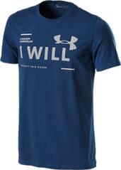 UNDER ARMOUR Herren Shirt UA I Will SS