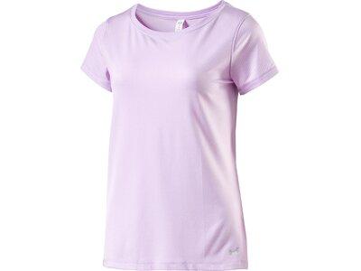 """UNDERARMOUR Damen Trainingsshirt """"UA HG Armour SS"""" Lila"""