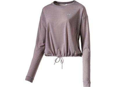 UNDER ARMOUR Damen Shirt UA WHISPERLIGHT CROPPED COVER UP Grau