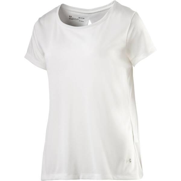 UNDER ARMOUR Damen Shirt UA Whisperlight SS Foldover