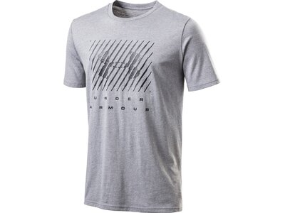 UNDER ARMOUR Herren UA BRANDED BIG LOGO SS Grau