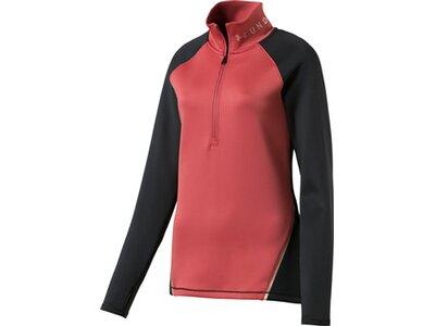 UNDER ARMOUR Damen Shirt UA CG 1/2 ZIP Pink