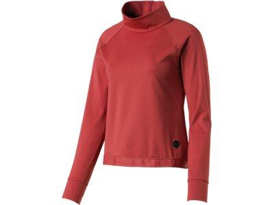 "UNDERARMOUR Damen Sweatshirt ""CG Rush LS"" Langarm Pink"