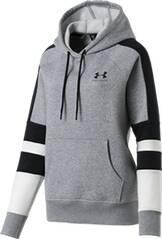 UNDER ARMOUR Damen Kapuzensweat RIVAL FLEECE LC LOGO NOVELTY