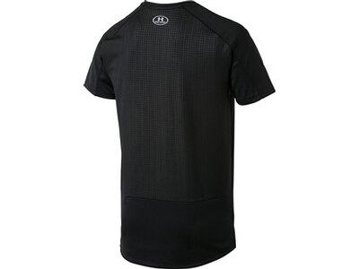 "UNDERARMOUR Herren Fitness-Shirt ""MK-1 Emboss"" Kurzarm Schwarz"