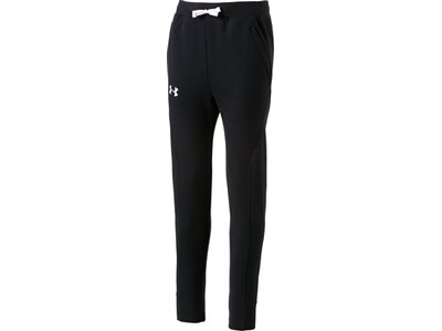 UNDER ARMOUR Kinder Sporthose RIVAL SOLID JOGGER Schwarz