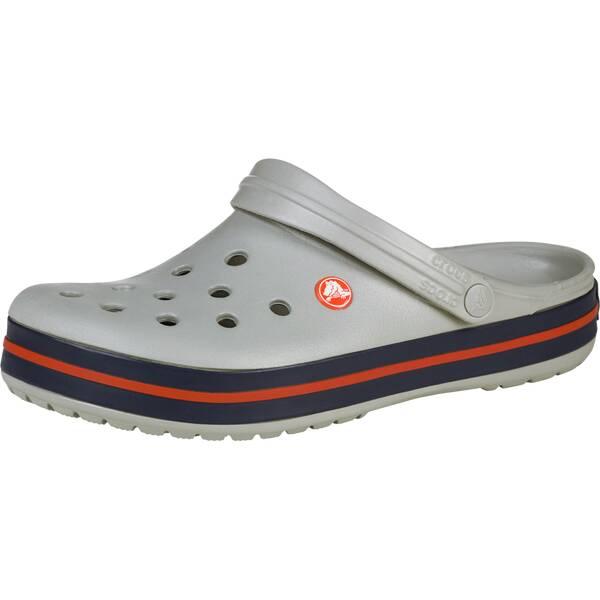 CROCS Herren Clogs Crocband | Schuhe > Clogs & Pantoletten > Clogs | Grau - Orange | CROCS