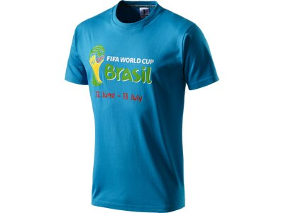 OLP Herren T-Shirt Welcome Blau