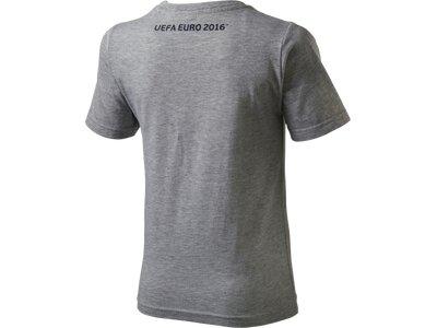 OLP Kinder Shirt K-T-Shirt Mascot Shirt I standing pose Grau