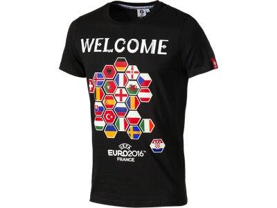 OLP Herren T-Shirt Participating Countries Schwarz