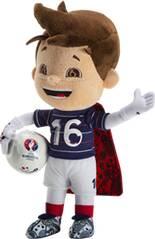 OLP Fanartikel Maskottchen Euro 2016 - 17 cm