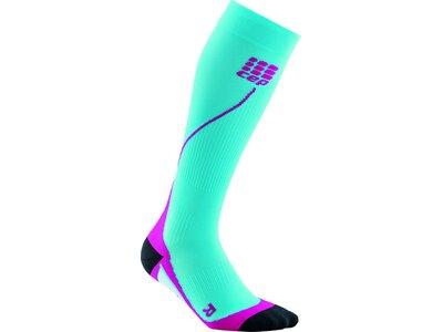 CEP Damen Socke pro+ run 2.0 Blau