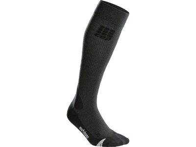 CEP Herren pro+ outdoor merino socks Grau