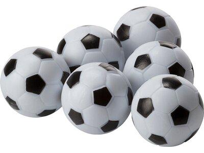 CARROMCO Tischspiel Tischfußball-Ersatzbälle Weiß