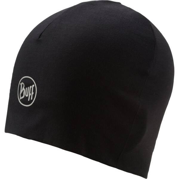 BUFF Herren Microfiber Reversible Hat Black Schwarz