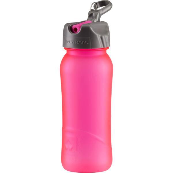 NATHAN Trinkflasche Pure Bottle Flip Straw 0,5 l