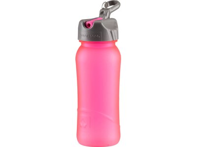 NATHAN Trinkflasche Pure Bottle Flip Straw 0,5 l Pink
