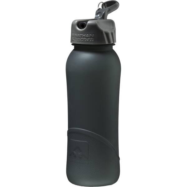 NATHAN Trinkbehälter Trinkflasche Pure Bottle Flip Straw 0,7