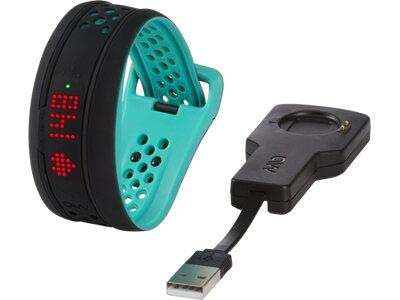 MIO Activity Tracker FUSE S/M Aqua Schwarz