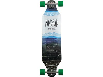 MADRID Longboard Mountain Blau
