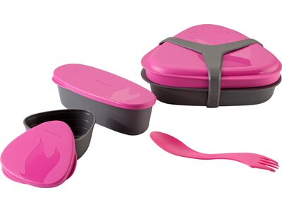 LIGHT MY FIRE Geschirr Geschirr Lunch Kit Pink