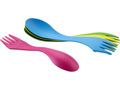 LIGHT MY FIRE Geschirr Besteck Spork Original 4-Pack Lila
