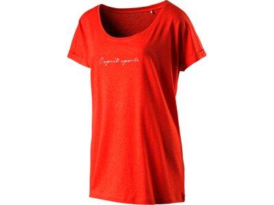 ESPRIT SPORTS Damen Shirt T-Shirts Orange