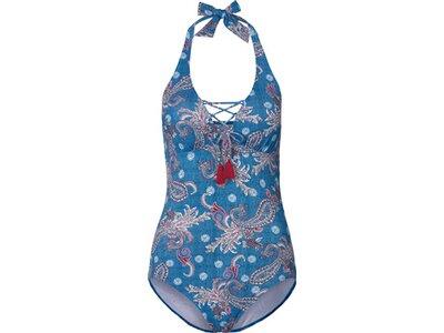 ESPRIT SPORTS Damen Badeanzug Blau