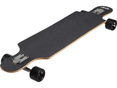 P.A.C Skateboard SMU LONGBOARD DROP THROUGH SAN FRAN Blau