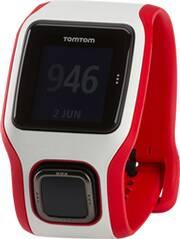 TOMTOM GPS Laufuhr RUNNER CARDIO (WEISS/ROT)