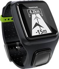 TOMTOM GPS Laufuhr RUNNER (SCHWARZ)