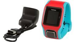 Vorschau: TOMTOM GPS Laufuhr RUNNER CARDIO (TÜRKIS/ROT)