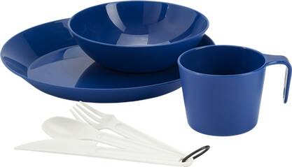 GSI Geschirr CASCADIAN 1 PERSON TABLE SET- BLUE