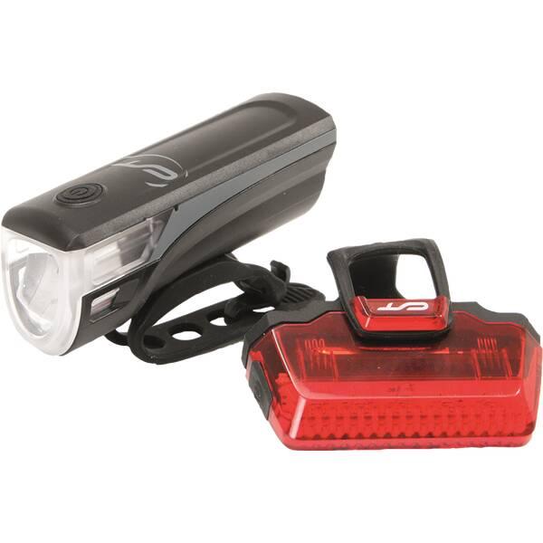CON-TEC Fahrrad-Beleuchtungsset Speed-LED USB