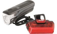 Vorschau: CON-TEC Fahrrad-Beleuchtungsset Speed-LED USB