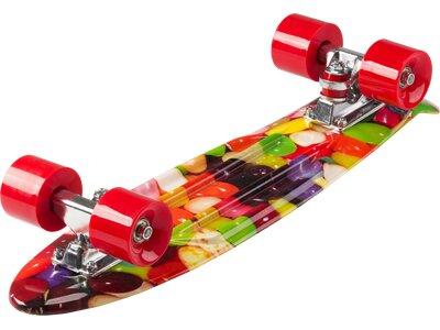 D STREET Skateboard D Street Polyprop Cruiser Jellybean Gelb