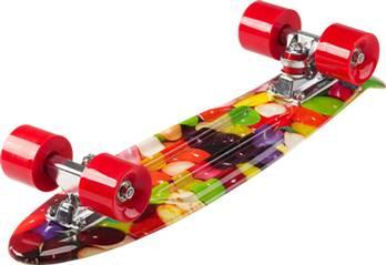 D STREET Skateboard D Street Polyprop Cruiser Jellybean