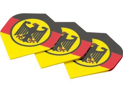 BULLS Dartpfeil Dartpfeil Flight Motex Std.Fahne Gelb