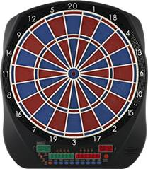 BULLS Dartboard BULL'S Flash RB Sound Elektronik Dartboard