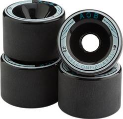 AOB Skateboard WHEEL BLACK - 78A