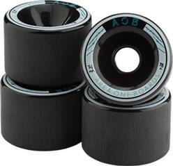 AOB Skateboard WHEEL BLACK - 83A