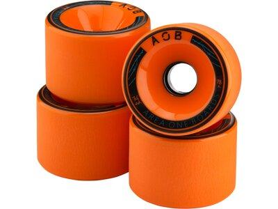 AOB Skateboard WHEEL ORANGE - 78A Orange