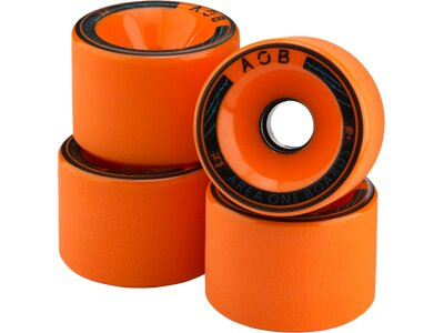 AOB Skateboard WHEEL ORANGE - 83A Orange
