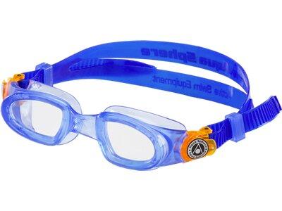 AQUA SPHERE Kinder Scchwimmbrille Moby Kid Blau