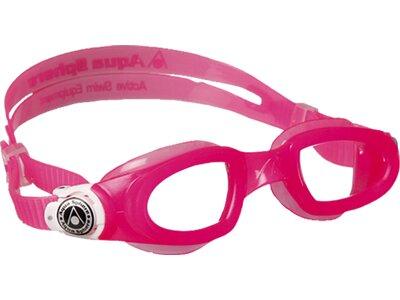 AQUA SPHERE Kinder Schwimmbrille MOBY Pink