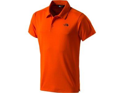 THE NORTH FACE Herren Shirt Tech Orange